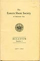 Thumbnail image of Eastern Shore Society Bulletin Number 2 cover