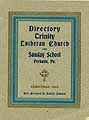 Thumbnail image of Perkasie Trinity Lutheran Church 1913 Directory cover