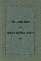 Thumbnail image of Fairfield Historical Society 1906 Report cover