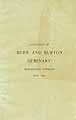 Thumbnail image of Burr and Burton Seminary 1893 Catalogue cover