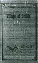 Thumbnail image of Orillia 1866-7 Directory cover
