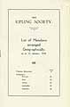 Thumbnail image of Kipling Society 1930 List of Members cover