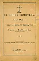 Thumbnail image of St. Agnes Cemetery 1896 Lot Owners cover