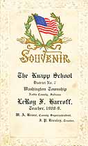Thumbnail image of The Knapp School 1908-9 Souvenir cover