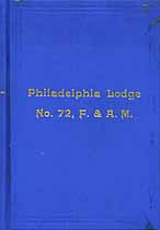 Thumbnail image of Philadelphia Lodge, F. & A. M. 1915 By-Laws cover