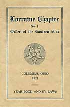 Thumbnail image of Lorraine Chapter O. E. S. 1921 Year Book cover