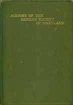 Thumbnail image of History of the German Society of Maryland cover