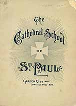 Thumbnail image of St. Paul Cathedral School 1886 Catalogue cover