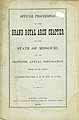 Thumbnail image of Missouri Grand Royal Arch Chapter 1876 Convocation cover