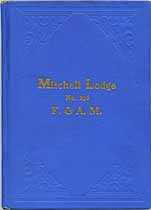 Thumbnail image of Mitchell Lodge No. 296, F. & A. M., 1912 Roster cover