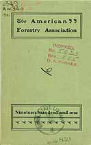 Thumbnail image of American Forestry Association 1901 Members cover