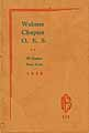 Thumbnail image of Webster Chapter O. E. S. 1928 Roster cover