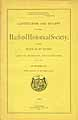 Thumbnail image of Hartford Historical Society 1889 Members cover