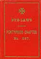 Thumbnail image of Pontypridd Chapter No. 227 Bye-Laws cover