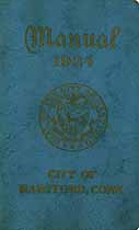 Thumbnail image of Hartford (City of) 1924 Manual cover