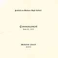 Thumbnail image of Fishkill-on-Hudson High School 1913 Commencement cover