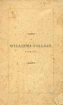 Thumbnail image of Williams College 1856-57 Catalogue cover