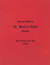 Thumbnail image of St. Mary's Guild 1925 Report cover