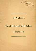 Thumbnail image of First Church in Exeter 1638-1888 Members cover