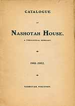 Thumbnail image of Nashotah House 1901-1902 Catalogue cover