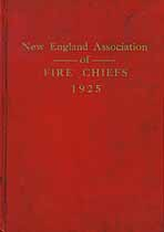 Thumbnail image of New England Assoc. of Fire Chiefs 1925 cover
