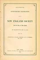Thumbnail image of New England Society of NYC 1865 Report cover