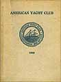 Thumbnail image of American Yacht Club 1928 cover