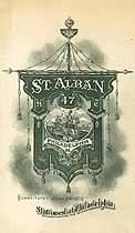 Thumbnail image of St. Alban Commandery, No. 47, K. T., 1911-12 Officers cover