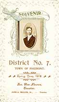 Thumbnail image of Freemont No. 7 School 1909 Souvenir cover