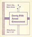 Thumbnail image of Atlantic City Public Schools 1903 Commencement cover
