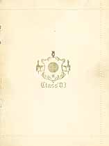 Thumbnail image of Holly High School 1903 Commencement cover