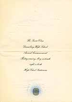 Thumbnail image of Dannebrog High School 1930 Commencement cover