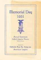 Thumbnail image of Memorial Day 1931 cover