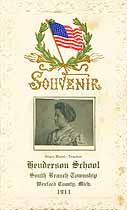 Thumbnail image of Henderson School 1911 Souvenir cover