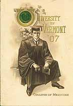 Thumbnail image of Univ. of Vermont College of Medicine '07 cover