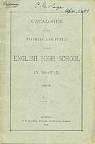 Thumbnail image of English High School 1880-81 Catalogue cover