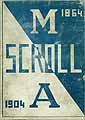 Thumbnail image of The Scroll 1904 Yearbook cover
