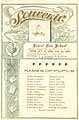 Thumbnail image of Laurel Run School 1898-1899 Souvenir cover
