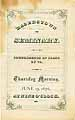 Thumbnail image of Hagerstown Seminary 1876 Graduation cover