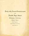 Thumbnail image of Danville High School 1917 Commencement cover