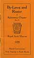 Thumbnail image of Kalamazoo Royal Arch Chapter 1928 Roster cover