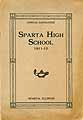 Thumbnail image of Sparta High School 1911-12 Catalogue cover