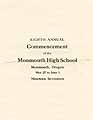 Thumbnail image of Monmouth High School 1917 Commencement cover