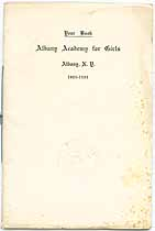 Thumbnail image of Albany Academy for Girls 1923-1924 Year Book cover