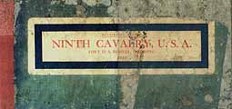 Thumbnail image of Ninth Cavalry, USA, Fort D. A. Russell, 1910 cover