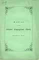 Thumbnail image of Billerica Orthodox Congregational Church 1855 Manual cover