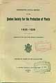Thumbnail image of Quebec Society for the Protection of Plants 1926 Report cover