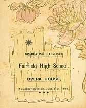 Fairfield High School 1894 Graduation