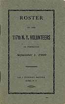 Thumbnail image of 117th N. Y. Volunteers Roster cover