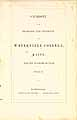 Thumbnail image of Waterville College 1851-52 Catalogue cover